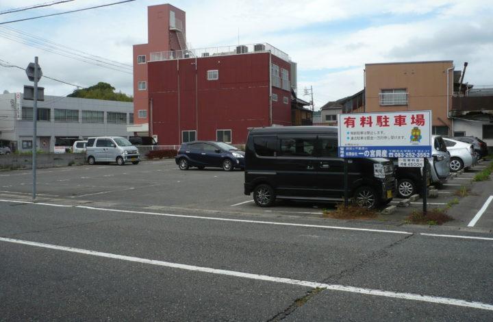 小月駅前駐車場
